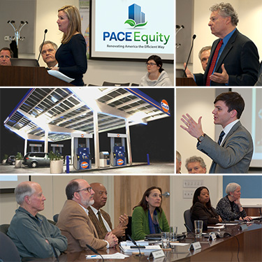 PACE Equity and Energetics present projects and capabilities at February 2015 CEDB meeting