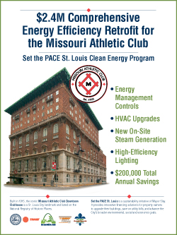 Missouri Athletic Club announces $2.4M energy-efficiency retrofit of downtown building