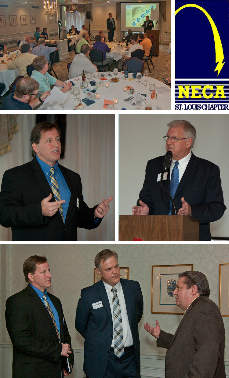 Energy Equity Funding presenting Set the PACE St. Louis program to NECA membership meeting on 8/4/15