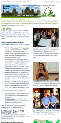 Fall 2013 e-newsletter